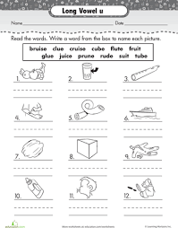 Sounds and phonics worksheets for preschool and kindergarten, including beginning sounds, consonants, vowels and rhyming. Learning Long Vowels Long I Words Vowel Worksheets Short Vowel Sounds Long Vowels