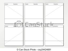 Tv Commercial Storyboard Template X6 Professional Of Film