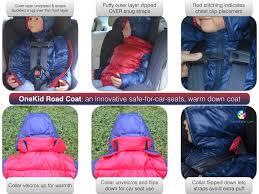 choose a car seat safe winter coat onekid road coat