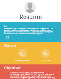 Easy Resume Builder Free 2018 Adorable Free Résumé Builder Resume Templates To Edit Download
