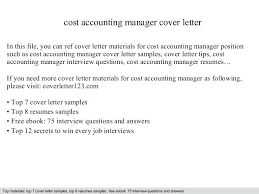 Accounting Cover Letter Accounting Accounting Assistant Cover Letter