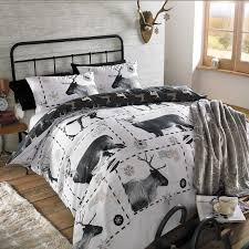 dreamscene duvet cover with pillowcase polycotton bedding set single double king