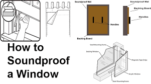 6 ways to soundproof a window home