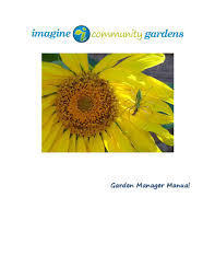 garden manager. Unique Manager ICG Is Proud To Announce The New And Improved Garden Manageru0027s Book Will Be  Published Handed Out On Training Day April 14th Each Garden Has One Person  To Manager N