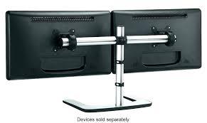 dual vertical monitor stand dual monitor stand portrait super vertical desk mount 5 diy dual vertical