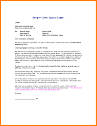 Insurance Appeal Letter Sample Articleezinedirectory