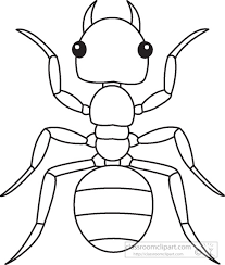 bug clipart black and white. download ant insects black white outline 919 · caterpillar clip art bug clipart and