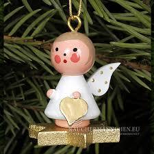Gold Stern Christbaumschmuck Mini Engel