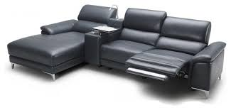 incredible modern leather sofa recliner sectional sofas with recliners in living room modern with modern
