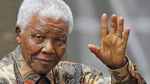 South African leader, Nelson Mandela