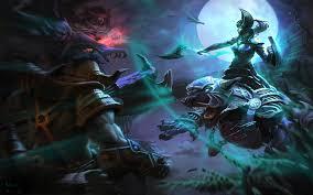 night stalker night battle magic woman luna dota 2 heroes game
