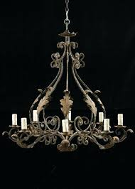 italian antique chandelier iron lighting antique wrought iron 8 light chandelier at vintage italian tole italian antique
