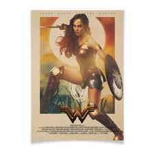 Плакат A3(29.7×42) <b>Чудо</b>-<b>женщина</b> / <b>Wonder</b> Woman #2808235 ...
