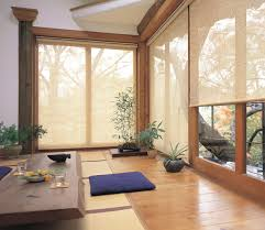 The Roller Blinds Modern Sunroom Brisbane Veneta Inside Window Decor