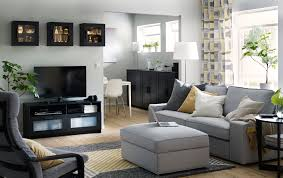Image of: Commercial Grey Living Room Furniture