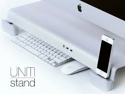 Thunderbolt Display Stand Interesting United We Stand IPhone IPod IPad And IMac And Some More