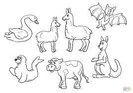 Is Your Mama a Llama Set coloring page | Free Printable Coloring Pages