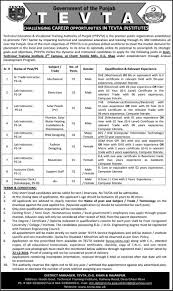 tevta jobs for govt technical training institute dg khan official advertisement for tevta jobs 2016 for govt technical training institute dg khan application form available