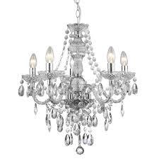 acrylic chandelier 8885 5cl