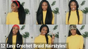 Crowshade Hair Style 12 super easy straight crochet hairstyles outre xpression 8065 by wearticles.com