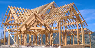 timber frame home kit is available