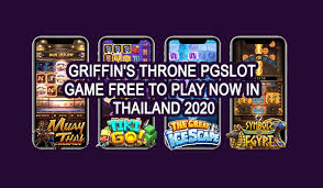 Griffin's Throne PGSLOT Game Free to play now in Thailand 2020   by  Pussy888 Thai   Medium