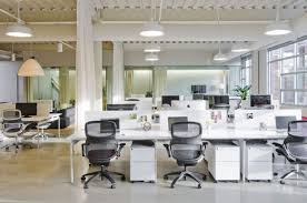 office space designs. Remarkable Open Office Design Of Portland Based Firm : Sleek Modern Space In Neat Decor Designs