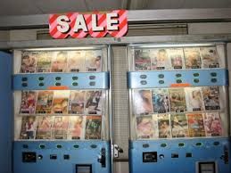 Sushi Vending Machine Delectable Digital World Tokyo Vending Machines Go Hitech