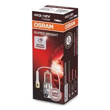 <b>Лампа автомобильная</b> OSRAM Super Bright <b>H3 100W</b> PKY22s Off ...