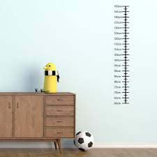 Plain Growth Chart For Children Wall Sticker Height Chart Wall Decal Kids Wall Art Nursery Wall Transfers Gc006