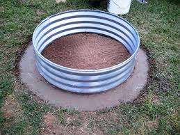 image of 48 fire pit ring