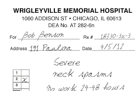 Fake A Doctors Note Heres A Fake Doctor Note To Get You Out Of Work For The Cubs Opener