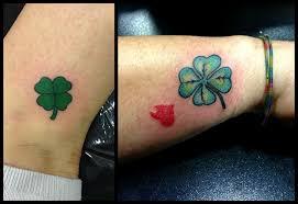 Quatrefoil Green Tattoo Tattoo Tatuaggi