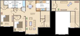 2 Bedroom Loft Simple Design Ideas