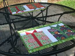 Quilted Placemat Patterns Interesting Design Ideas