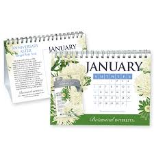 Image Of 2020 Calendar 2020 Botanical Interests Desk Calendar