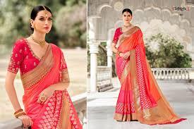 Tathastu Designer Sarees Tathastu Sarees 2401 2410 Series Saree Catalogue Wholesale