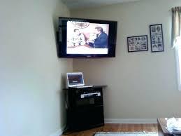 corner tv mount wall mounted shelves image of corner wall mount shelf wall corner mount ideas