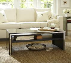 coffee table upton home adelie mirrored coffee cocktail table pier one best mirrored coffee