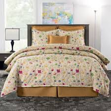 delectably yours decor tara fl bedding comforter set accessories in 5 sizes