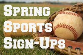 Spring Sports Sign Ups 2019