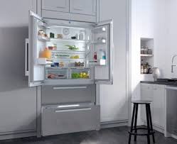 miele built in refrigerator. Perfect Built Refrigerator With PerfectCool Technology Miele Series  KFNF9955IDE  Lifestyle View For Built In H