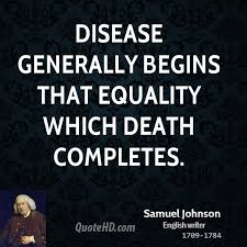 Equality Quotes Mesmerizing Samuel Johnson Equality Quotes QuoteHD