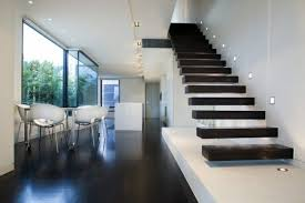 Floating staircase with lighting square 101 modern stairs appear as an  eye-catcher in your home