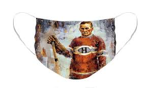 Georges Vezina Montreal Canadiens Face Mask for Sale by J Markham