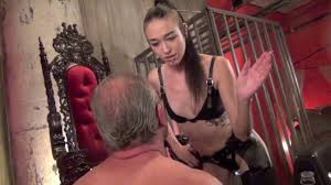 Femdom slapping beating asian