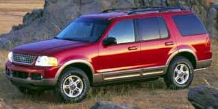 2002 Ford Explorer Tire Size Chart 2002 Ford Explorer Dimensions Iseecars Com