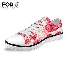 Floral Pattern Shoes