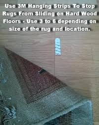 how to keep rugs from slipping how to prevent rugs from sliding on hardwood floors helpful