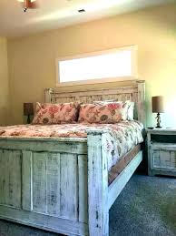 rustic king size bed – hanoversquareapts.com